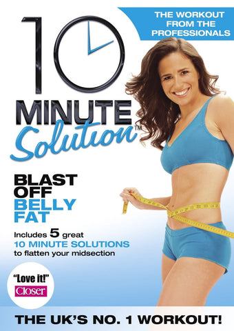 10 Minute Solution: Blast Off Belly Fat [DVD]