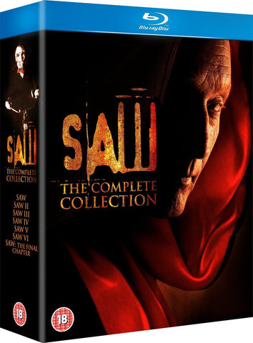 Saw: 1-7 Box Set [Blu-ray]
