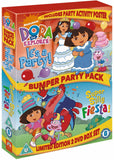Dora The Explorer: Bumper Party Pack [DVD]