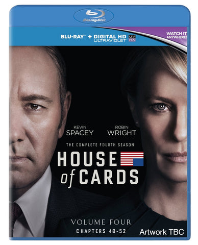 House of Cards - Season 4 [Blu-ray] [2016]