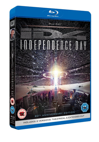 Independence Day [20th Anniversary Remastered Edition] [Blu-ray] [2016]