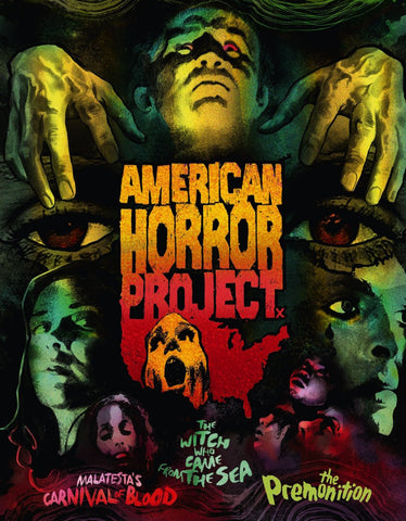 American Horror Project Vol 1 [Dual Format Blu-Ray + DVD]