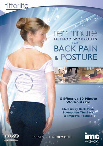 Back Pain & Posture Ten Minute Method Workouts [DVD]
