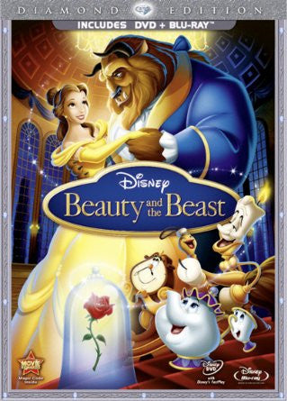 Beauty and the Beast (DVD + Blu-ray, with DVD Packaging)