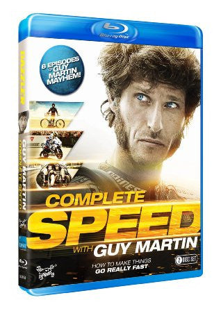 Guy Martin - Complete Speed! [Blu-ray]