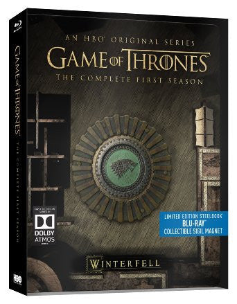 Game of Thrones - Season 1 (Limited Edition Steelbook) [Blu-ray]