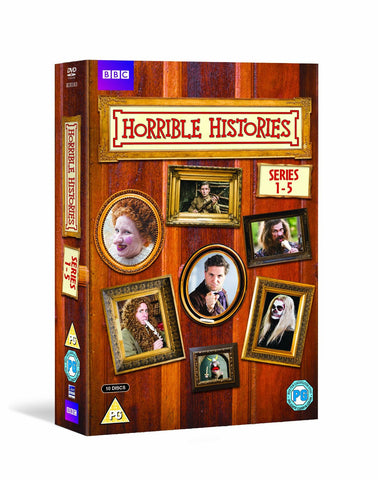 Horrible Histories - Series 1-5 [DVD]