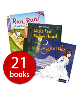 Oxford Reading Tree Practise Your Phonics with Traditional Tales - 21 Books