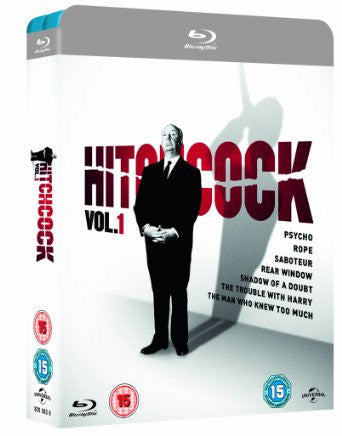 Hitchcock Vol. 1 [Blu-ray] [1943] [Region Free]