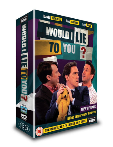 Would I Lie To You - Series 5 [DVD]