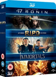 47 Ronin / RIPD / Immortals 3D [Blu-ray]