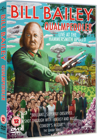 Bill Bailey: Qualmpeddler (Live 2013) [DVD]