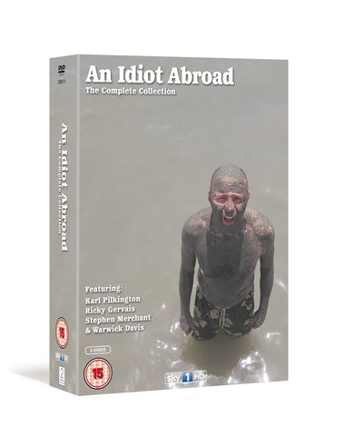 An Idiot Abroad - Series 1-3 [DVD]