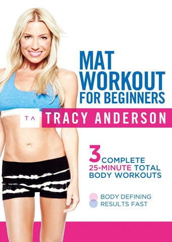 Tracy Anderson: Mat Workout For Beginners [DVD]