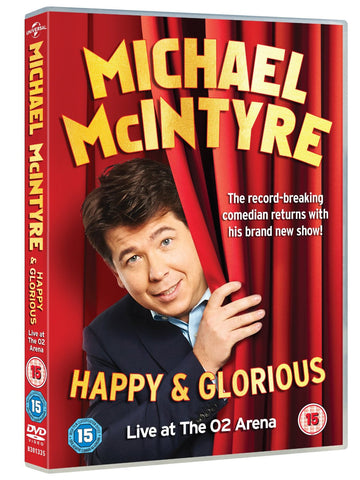 Michael McIntyre - Happy & Glorious [DVD] [2015]