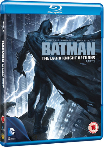 Batman: The Dark Knight Returns Part 1 [Blu-ray] [Region Free]