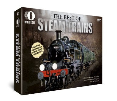 Best of Steam Trains [6 DVD Gift Set]