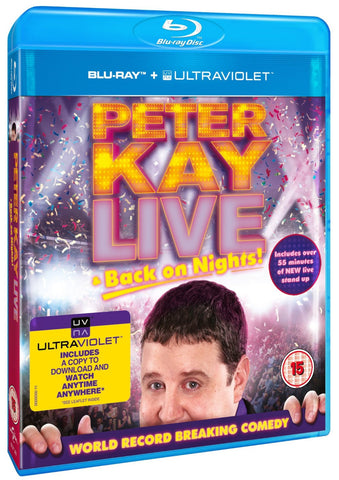 Peter Kay: Live & Back on Nights (Blu-ray + UV)