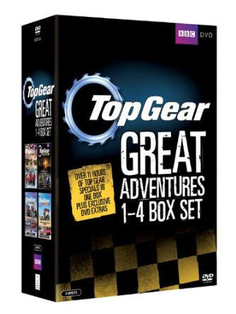 Top Gear - The Great Adventures 1-4 [DVD]