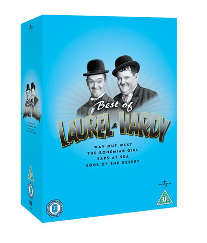 Best Of Laurel & Hardy [DVD]