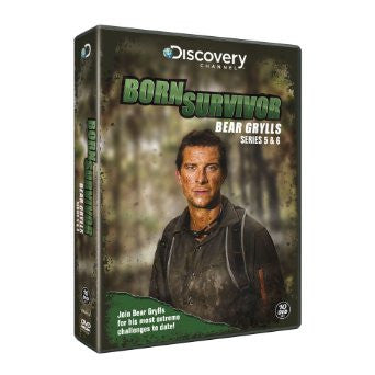Bear Grylls: Born Survivor - Complete Season Five And Six [DVD]