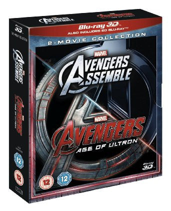 Avengers Age Of Ultron / Avengers Assemble Doublepack [Blu-ray 3D]