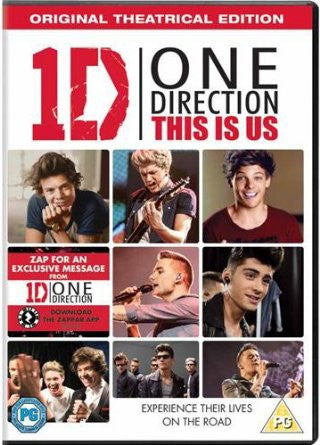 One Direction: This Is Us [DVD]