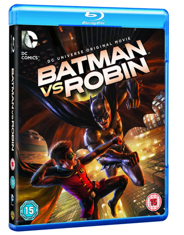 Batman Vs Robin [Blu-ray] [2015] [Region Free]