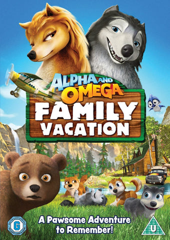 Alpha & Omega - Family Vacation [DVD] [2016]