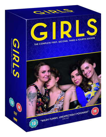 Girls - Season 1-4 [DVD] [2016]