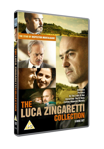 The Luca Zingaretti Collection : 5 Disc Box Set [DVD]