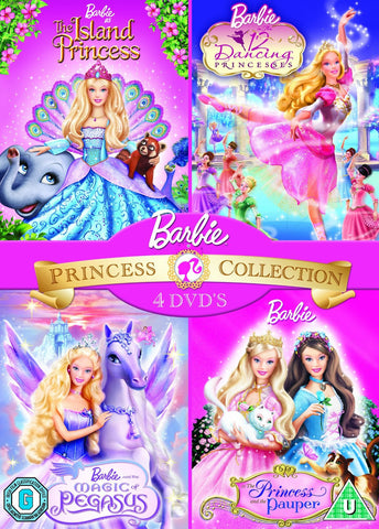 Barbie Princess Box Set [DVD]