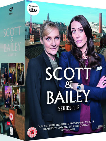 Scott & Bailey - Sereis 1-5 Box Set [DVD] [2016]
