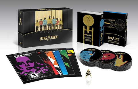 Star Trek: 50th Anniversary Limited Edition Box Set [Blu-ray] [2016]