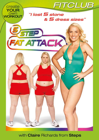 5 Step Fat Attack with Claire Richards from Steps [DVD]