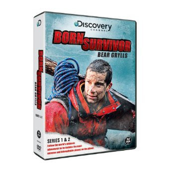 Bear Grylls: Born Survivor - Complete Season One And Two [DVD]