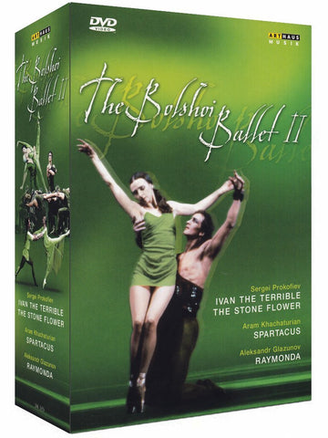 The Bolshoi Ballet 2: Ivan the Terrible, The Stone Flower, Spartacus, Raymonda [DVD]