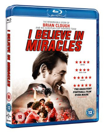 Brian Clough: I Believe in Miracles [Blu-ray] [2015]