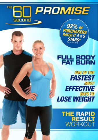 60 Second Promise : Full Body Fat Burn [DVD]