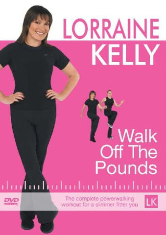 Walk Off The Pounds with Lorraine Kelly [DVD]