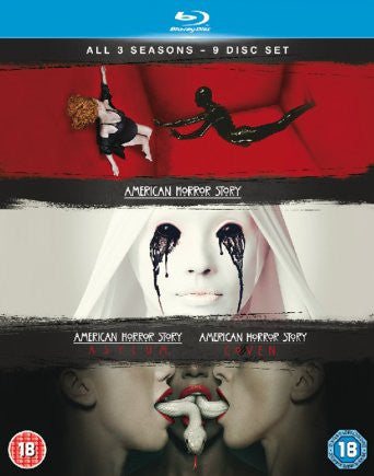 American Horror Story - Season 1-3 [Blu-ray]
