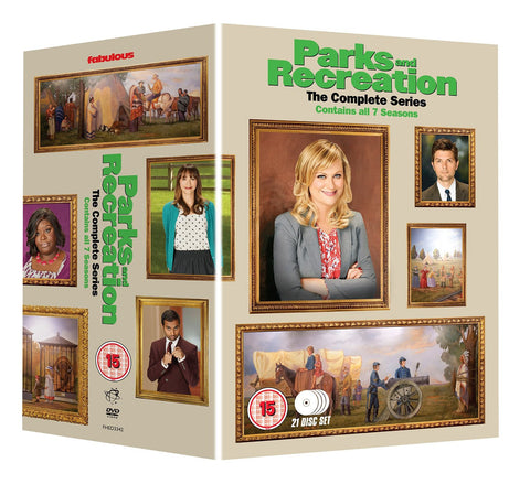 Parks & Recreation - Seasons 1-7: The Complete Series (21 disc box set) [DVD]