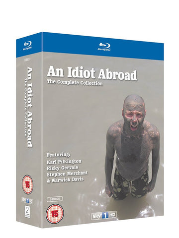 An Idiot Abroad - Series 1-3 [Blu-ray]
