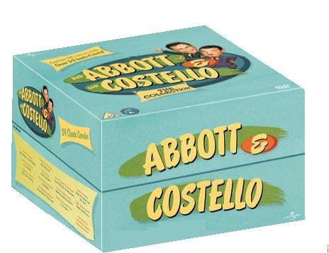 Abbott & Costello - The Collection (13-Disc Box Set) [DVD]