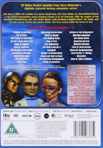 Thunderbirds Classic - Complete Collection (9-Disc Box Set) [DVD]
