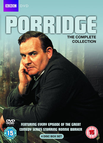 Porridge Series 1-3 and Christmas Specials (repackaged) [DVD]