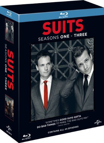 Suits - Season 1-3 [Blu-ray] [2013] [Region Free]
