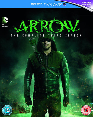 Arrow - Season 3 [Blu-ray] [2015]