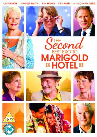 The Second Best Exotic Marigold Hotel [DVD] [2015]