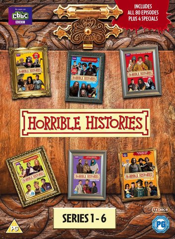 Horrible Histories - Series 1-6 [DVD]